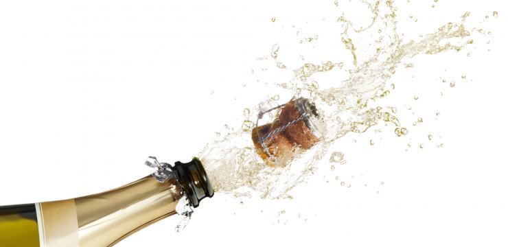 Champagne, Parma Ham, Masqueliers OPCs…