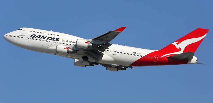 Qantas Flugzeug