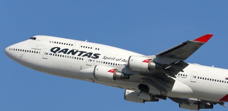 Direktflug von London nach Perth